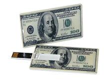100 $ Dollar Billete USB Stick con 8 GB memoria / dispositivo de Flash Drive