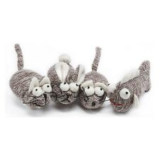 Multipet Sock Pal For Cats Catnip Toy (3 Pack)  Fish,Rabbit &Mouse New with Tags