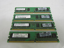 4GB PC6400 DDR2 4x1GB PC2-6400U 800MHz Non Ecc 240 pin Desktop Memory Ram
