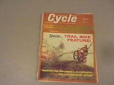 OCTOBER 1965 CYCLE MAGAZINE,BMW R60,JAMES 250 SCRAMBLER,GREENWOOD,ASCOT TT,TRAIL