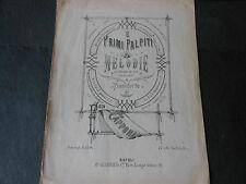 1883 SPARTITO MUSICALE FRANCESCO CAPPONI NAPOLI EDITORE BIAGIO GIANNINI