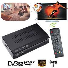 New FAT HD DVB-S2 DVB-S MPEG-4 EPG DVB USB PVR HD Digital Satellite Receiver