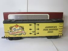 DELTON 4258-W STROH'S REFRIGERATOR CAR - RARE WHEAT VERSION