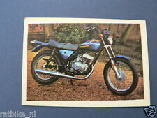 VDH-019 AMF HARLEY-DAVIDSON SS250 MOTOR  PICTURE STAMP ALBUM CARD,