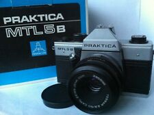 Rare Original Praktica/Practica MTL 5B SLR 35mm Camera+Carl Zeiss 2.8/50 Lens
