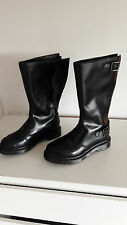 Dr. Martens womens black Leather knee hight boots shoes -  UK 4 / EU 36,5