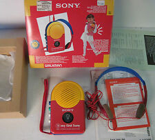 sony wm-3040 my first sony, walkman nuovo con scatola