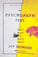 The Psychopath Test: A Journey Through the Madness Industry, Ronson, Jon, Good B