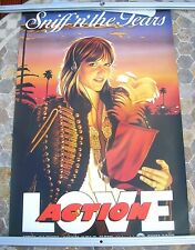 SNIFF'N' THE TEARS  Love Action 1981 promo poster 30 x 20  original