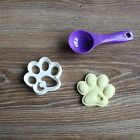 Dog Paw With Heart Cookie Cutter Treat Print