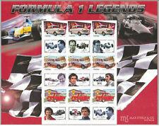 Formel 1 Legende Gemienschaftsausgabe Block 37A einzeln ohne Mappe