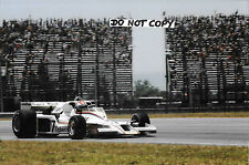 9x6 Photograph Clay Regazzoni , F1 Shadow DN8  Brazilian GP Rio-de-Janerio 1978