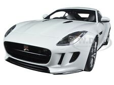 2015 JAGUAR F-TYPE R COUPE POLARIS WHITE 1/18 MODEL CAR BY AUTOART 73651