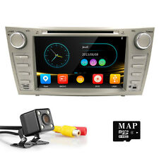 "8"" HD Car Stereo Radio HeadUnit DVD Player GPS for Toyota Camry Aurion 2007-2011"