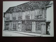 POSTCARD ESSEX COGGESHALL - PAYCOCK'S HOME - PENCIL SKETCH