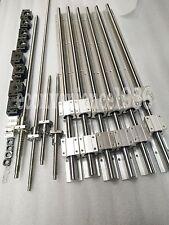 SBR16-340/1420/1460mm linear rail RM1610-320/1495/1530/1530 mm &BK/BF12&Coupling