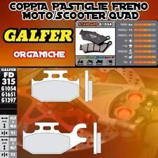 FD315G1054 PASTIGLIE FRENO GALFER POSTERIORI CANNODALE SPEED 440 IZQ 2002