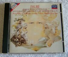Faur': Pell'as et M'lisande; Pavane; Fantasie (CD, Jul-1983, Argo)