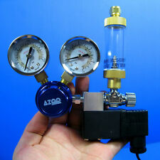 Aquarium Co2 Pressure Regulator Magnetic Valve + Bubble Counter /w Chack Valve