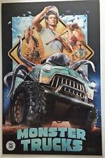 "MONSTER TRUCKS 11""x17""Original Promo Movie Poster  CINEMARK Mint Limited Edition"