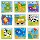 Primary Wooden Puzzle Toy Baby Child Infant Educational Inspired Brick Board Pad
