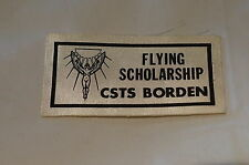 Canadian Army Cadet Flying Scholarship CSTS Camp Borden Patch