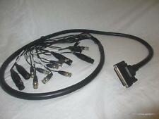 Breakout Cable D-Sub DB37 37 Pin to DB9, BNC, DMX RCA 3 Pin Just over 6'