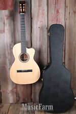 Martin 000C Nylon String 000-12 Fret Cutaway Acoustic Guitar with Hardshell Case