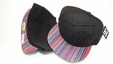 NWT NEW ERA HAT CAP FITTED DC SHOES SIZE 7 3/8 BLACK