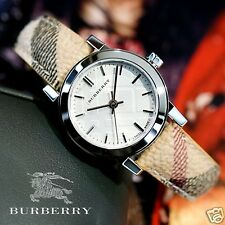 Burberry The City BU9222 Wristwatch Warranty Box RRP $500