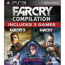 Far Cry Compilation (Sony PlayStation 3, 2014) NEW