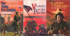 War LOT by Marrin, Yanks Are Coming/Victory in the Pacific/America and Vietnam
