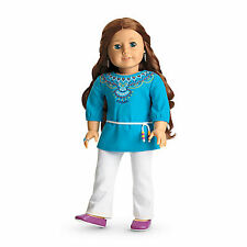 "American Girl LE SAIGE TUNIC OUTFIT IN BAG for 18"" Dolls 2013 Clothes Outfit NEW"