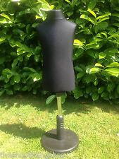 CHILDRENS AGE 2/4 Dressmaking Mannequin Tailors Display Dummy Dressmakers BLACK