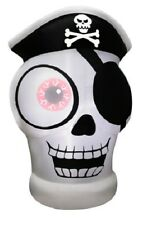 5 ft. Inflatable 1-Eyed Pirate Skull nEW