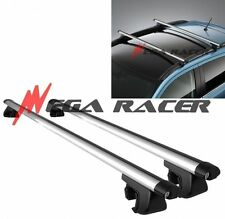 """JDM Adjustable 50"""" in Aluminum Top ROOF RACK Luggage Carrier #r3 Key Lock Clamps"""