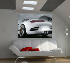 Porsche Lights big huge cars photo wall poster print fb642