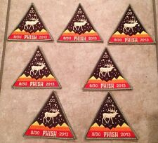 Official 8/30/13 Phish Patch Dick's Commerce City CO Poster Limited Merit Badge