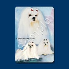 "MALTESE - Ruth Maystead ""Best Friends"" Dog Playing Cards Box Sealed NEW"