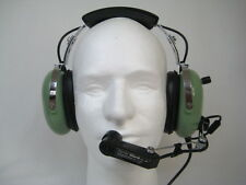 Refurbished David Clark H10-36 Helicopter Headset with Volume Control  M1 Mic