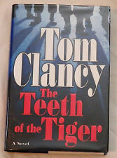 The Teeth of the Tiger by Tom Clancy Signed