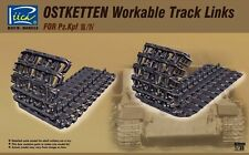 Riich Models RE30008 1/35 Ostketten Workable Track Links for Pz.Kpf III/IV