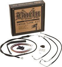 Extended Cable/Brake Line Kit for 12in. Ape Handlebars Burly B30-1007