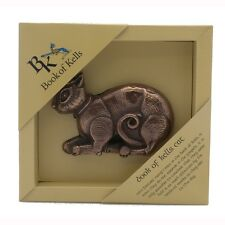 IRISH Bronze Book of Kells CAT Made in Ireland by  Wild Goose Studio