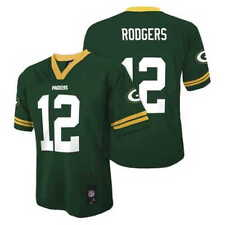 (2016-2017) Green Bay Packers AARON RODGERS nfl Jersey YOUTH KIDS BOYS (xl)
