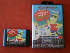 THE SIMPSONS BART VS THE SPACE MUTANTS / PAL - EURO / BOXED / MEGADRIVE MD * 484
