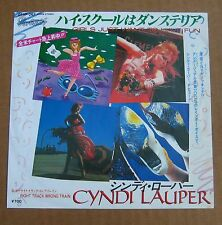 """Cyndi Lauper  - Girls Just Wanna Have Fun - Japanese Picture Sleeve PS 7"""" single"""