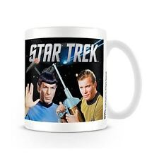 Star Trek Kirk and Spock Character Coffee Mug - Boxed Retro Gift