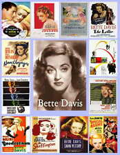 BETTE DAVIS MOVIE POSTER PHOTO-FRIDGE MAGNETS Set of 13