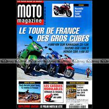 MOTO MAGAZINE N°169 HONDA CBR 1100 XX GL 1500 GOLDWING 400 XR 650 DEAUVILLE 2000